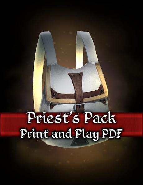 Packs de cartas y hojas de personaje de Deep Dungeon Games para D&D 5ª ed