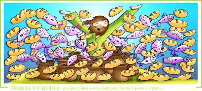 Multiplicación de los panes y los peces