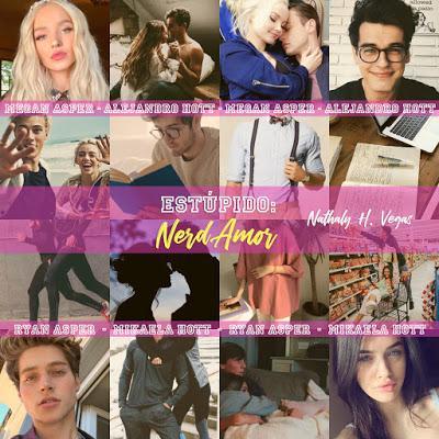 Reseña: Estúpido: Nerd Amor - Nathaly H. Vegas