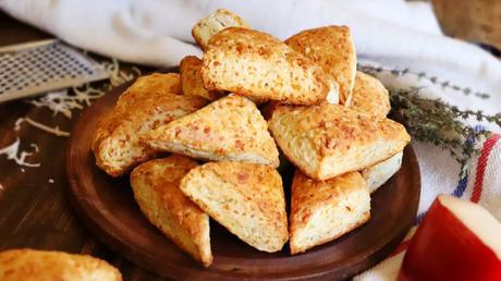 scones de queso