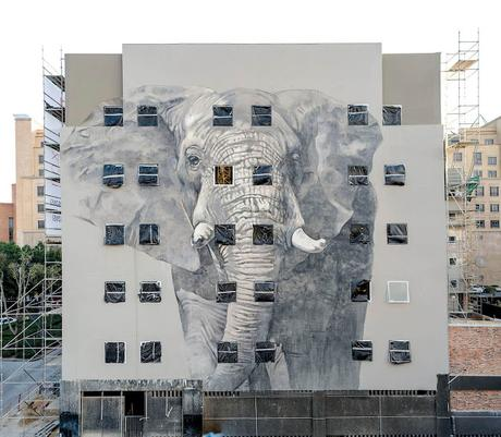 Grafitti femenino. Faith47