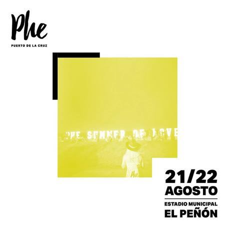 [Noticia] Cartel completo del Phe Festival 2020, que contará entre otr@s con Ginebras, Sidonie, Hidrogenesse o Novedades Carminha