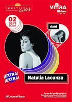 Natalia Lacunza y de dani en Tomavistas Extra