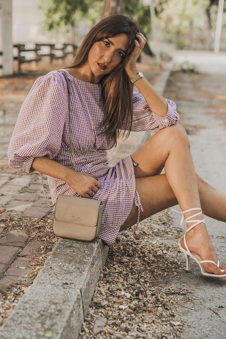 plaids dress
