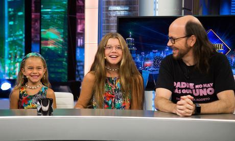 Las hijas de Santiago Segura eclipsan a su padre en televisión