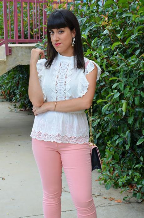 Jeans pastel de Femme Luxe