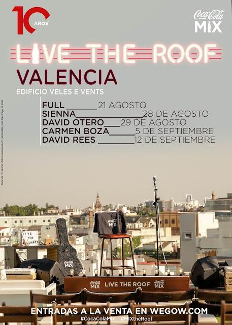 [Noticia] Full, Sienna, David Otero, Carmen Boza y David Rees conforman el cartel del Live The Roof Valencia 2020