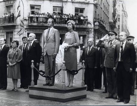 Visita de los Reyes de España a Santander