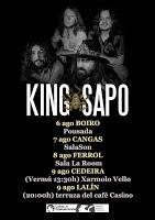 Gira de King Sapo por Galicia en 2020