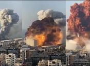 Desastre. registró fuerte explosión Beirut, capital Líbano