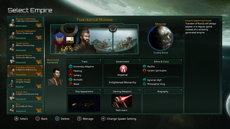 Stellaris Console Edition: I've created a game which has every ...