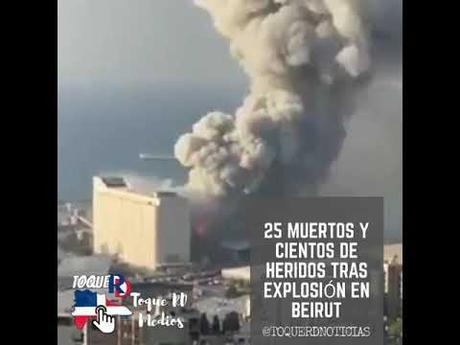 Gran Explosión En Beirut – ZURIRED NEWS