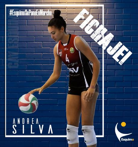 Andrea Silva nueva incorporación del CAV Esquimo