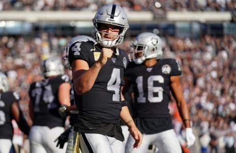 Previo de Las Vegas Raiders a la Temporada NFL 2020
