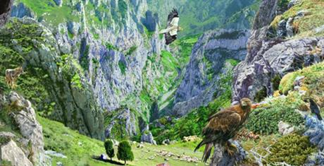 El centro 'Las Montañas del Quebrantahuesos' en Picos de Europa celebra el  Día de Protección de la Naturaleza