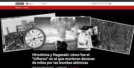 REPORTAJE DE BBC MUNDO CON MAGNÍFICAS FOTOS SOBRE EL 75 ANIVERSARIO DEL LANZAMIENTO DE LAS BOMBAS SOBRE HIROSHIMA Y NAGASAKI