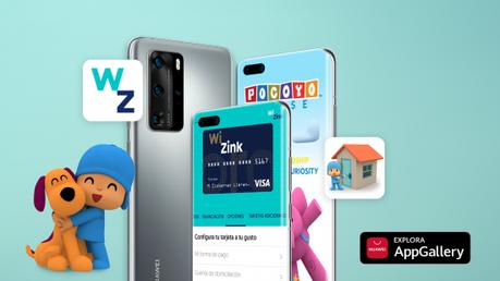 Pocoyo House y WiZink Bank ya en la Huawei AppGallery