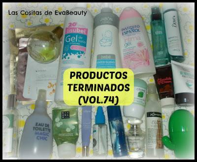 Productos terminados/Empties belleza e higiene low cost