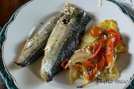 receta de pescado al horno