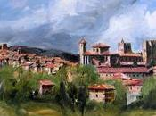 colores Sigüenza, según pintor Emilio Fernández-Galiano