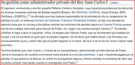Juan Carlos I ya cobraba comisiones del las petroleras árabes durante la transición