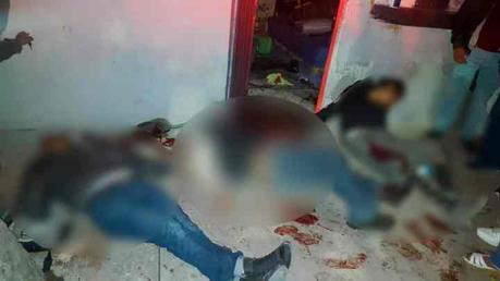 FGE investiga la ejecución de 3 personas al norte de la ciudad