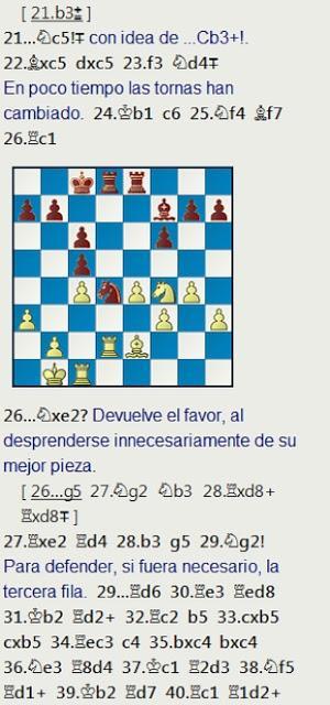 La partida de Angel Fernández contra Jaume Anguera, 3er clasificado en el Campeonato de España de 1967