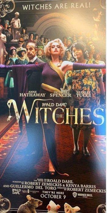 Adaptaciones de libros a películas 2020: Revelan poster de 'Las brujas' y Anne Hathaway luce hermosa junto a su aquelarre