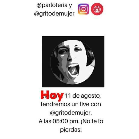 Conversando por Instagram con Grito de Mujer!