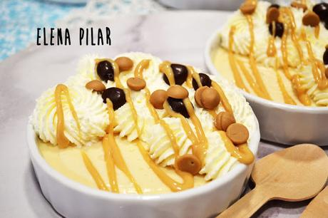 Pudding de mantequilla de cacahuete (sin azúcar)
