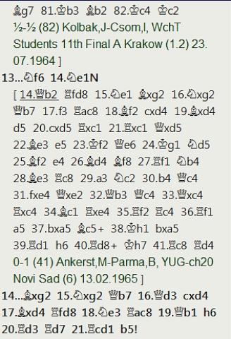 Tablas luchadas de Kárpov en la 4ª ronda del Match-Torneo Juvenil de Leningrado 1969
