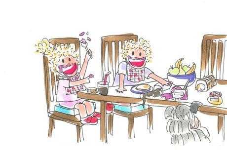 Cómo hacer que un desayuno con niños sea divertido