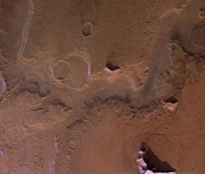 Los valles de Marte pudieron ser esculpidos por hielo y no por agua