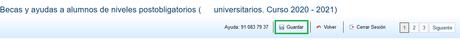 Como solicitar las Becas del ministerio para estudios universitarios 2020/2021 Online