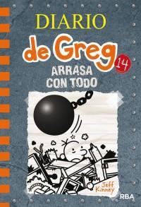 Diario de Greg: arrasa con todo best seller juvenil