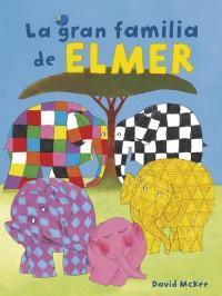 La gran familia de Elmer best seller infantil