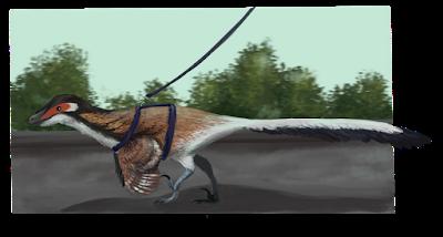 Viajando al pasado con Small Microraptor