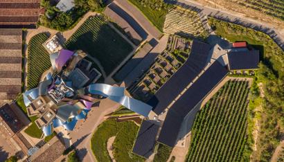 El Hotel Marqués de Riscal instala 300kW para autoconsumo y ahorro energético