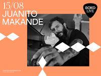 Concierto de Juanito Makandé en Soko Live