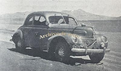 Mercury 8 en una travesía entre Perú y Argentina