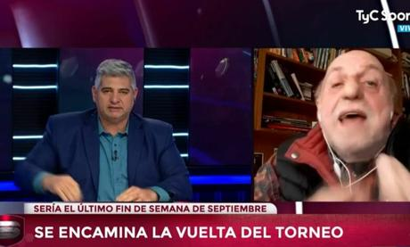 """Pagani se """"sacó"""" con Farinella al discutir sobre la final entre River y Boca en Madrid"""