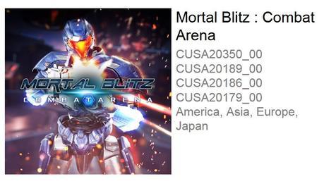 Mortal Blitz: Combat Arena es inminente en PSVR