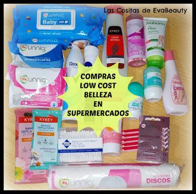 Compras haul low cost belleza e higiene en supermercados