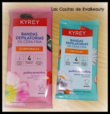 Bandas depilatorias cera fría KYREY (Consum)