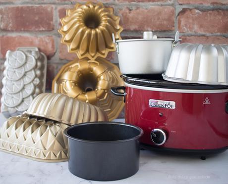 Que moldes puedes usar en ollas de cocción lenta o slow cooker
