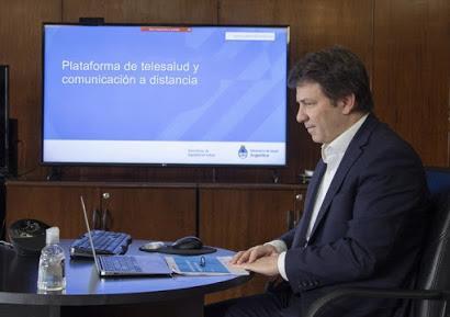 La plataforma Telesalud tuvo 8.000 nuevas consultas durante el mes de julio