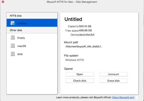 Cómo leer y escribir en volúmenes NTFS en Mac