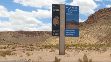 El gran viaje de la ruta 40 en Argentina de norte a sur: la segunda etapa, entre caminos de cornisa estrechos y peligrosos llego a Abra del Acay.