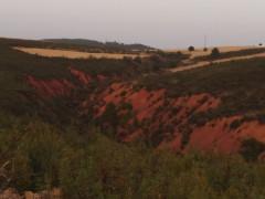 Los colores del anochecer en Puebla de Valles