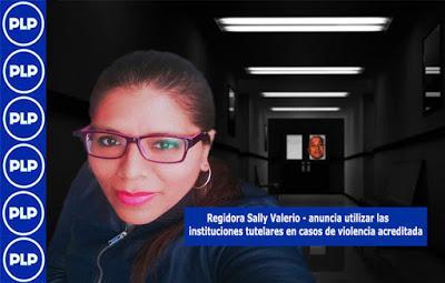 SALLY VALERIO DENUNCIA SER VÍCTIMA DE ACOSO POLÍTICO...